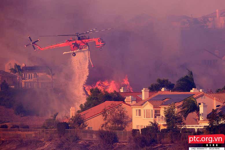 Chăn chống lửa – phương pháp phòng cháy mới?