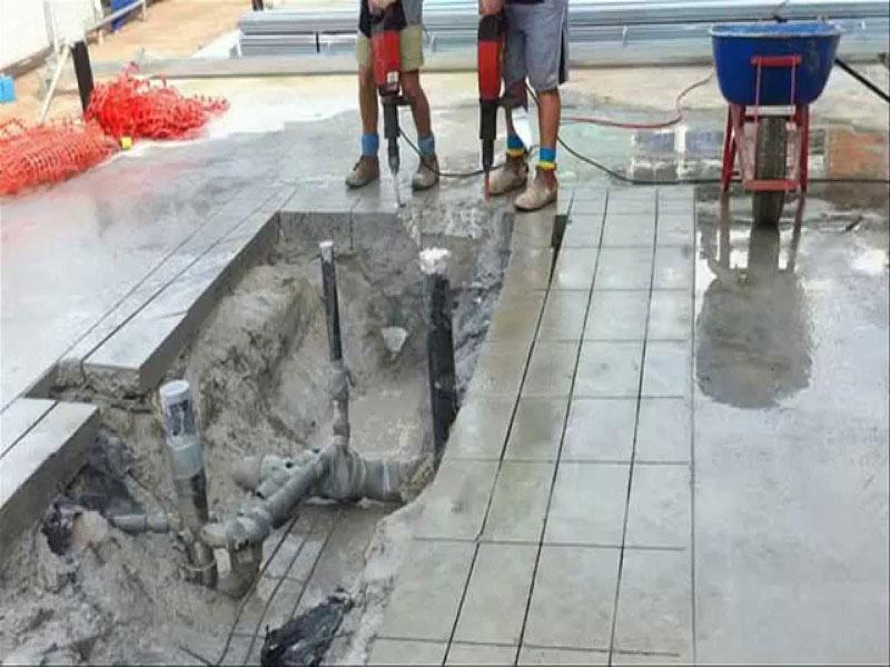 Tại sao nền thi công cắt joint nền bê tông