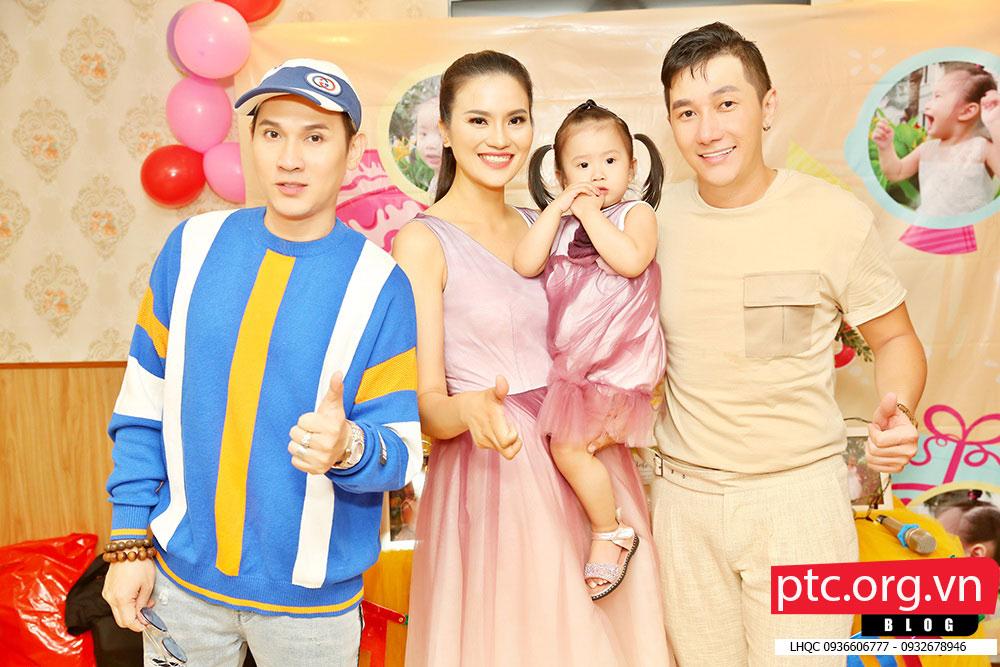 Nguyên Vũ cùng Nam Phong đến dự sinh nhật con gái Lê Thị Phương